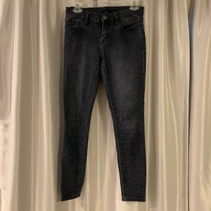 BDG twig mid-rise skinny jeans black